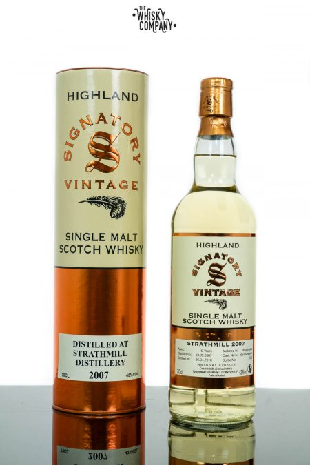 Strathmill 2007 Aged 10 Years Single Malt Scotch Whisky - Signatory Vintage (700ml)
