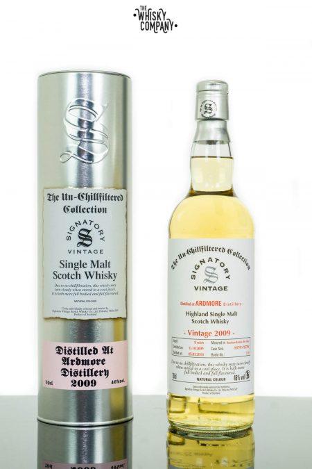 Ardmore 2009 Aged 8 Years Single Malt Scotch Whisky - Signatory Vintage (700ml)