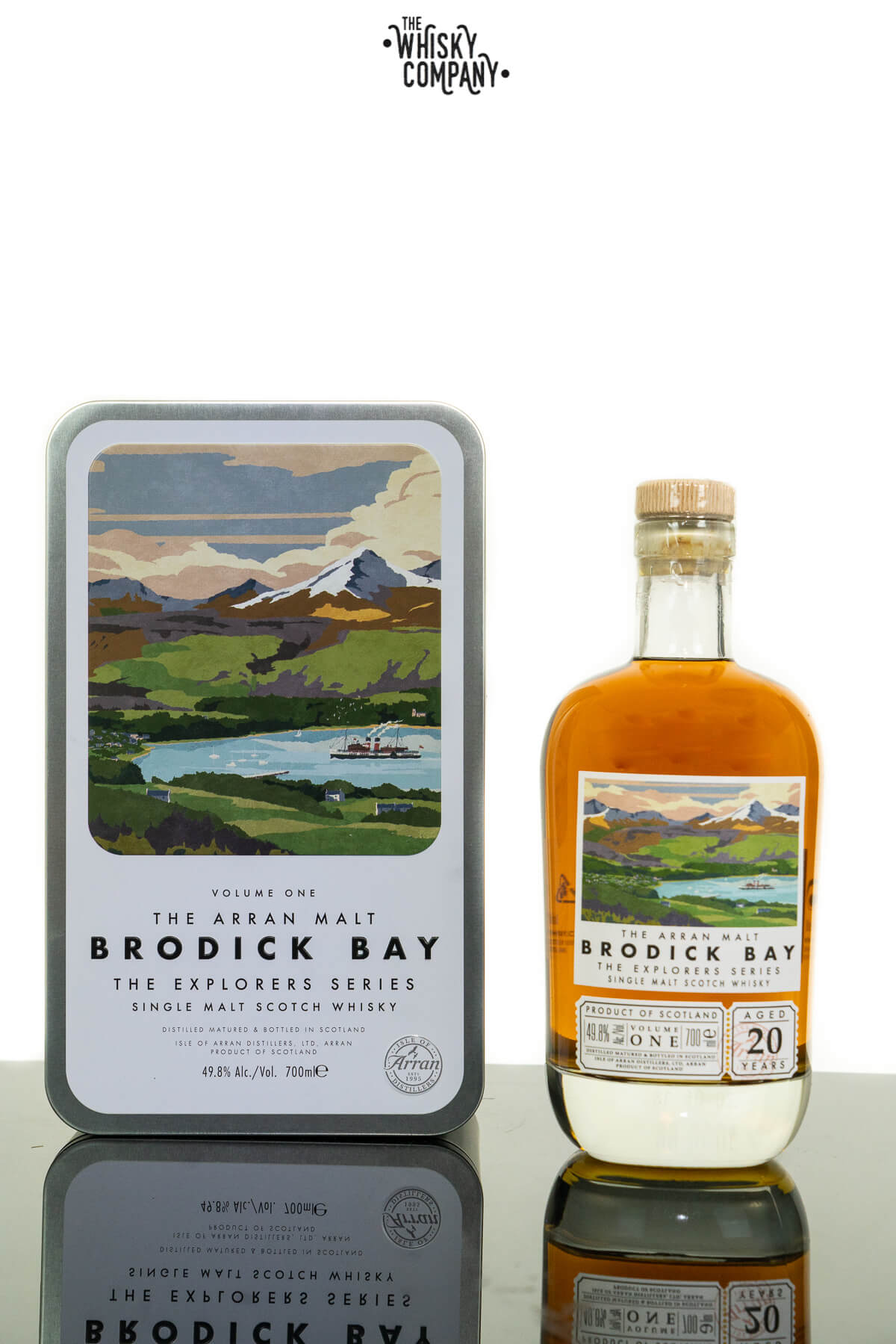 Arran Aged 20 Years Brodick Bay 'The Explorer Series' Single Malt Scotch Whisky (700ml)