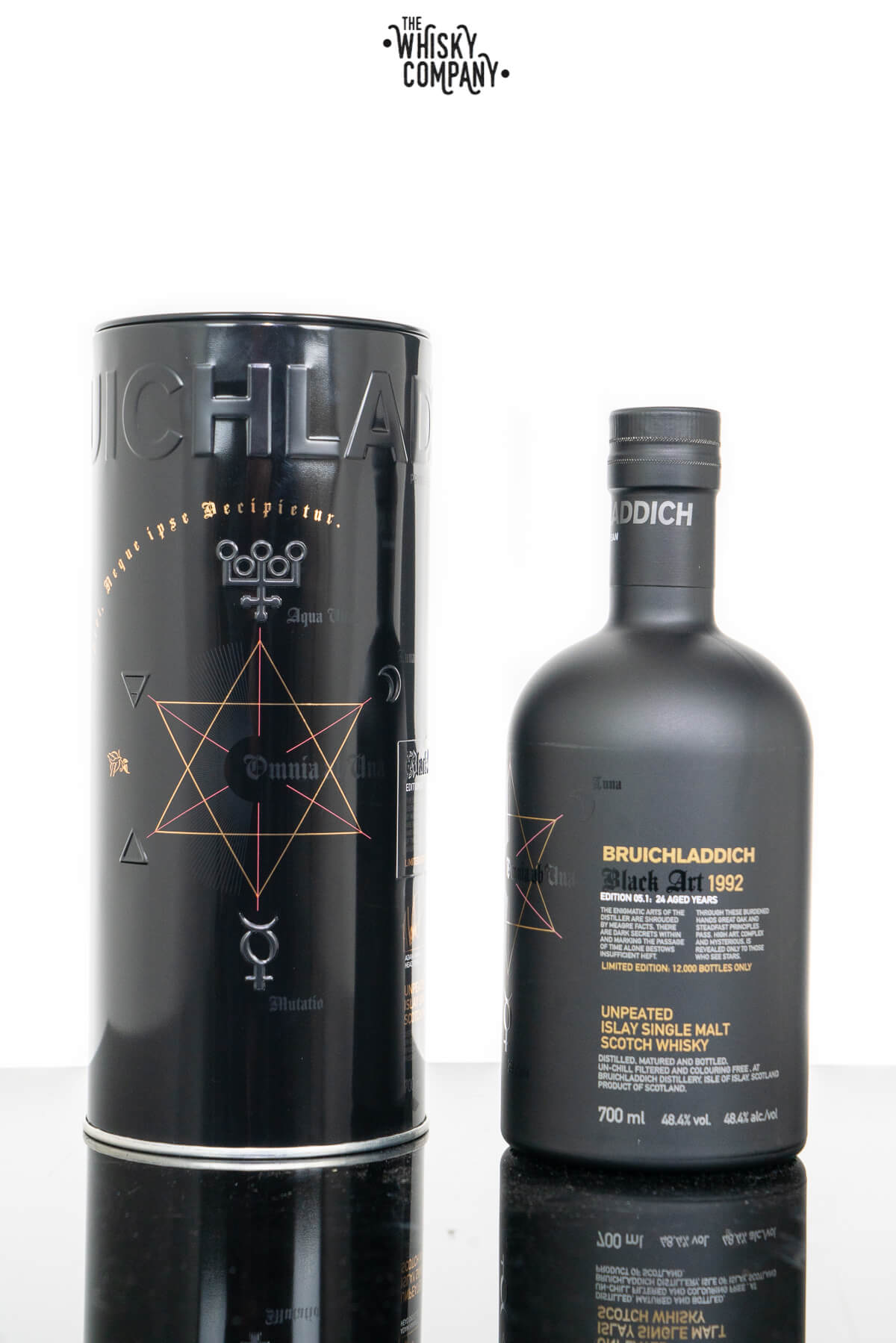 Bruichladdich 1992 Black Art Edition 5.1 Islay Single Malt Scotch Whisky (700ml)