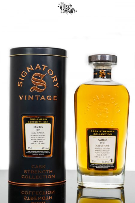 Cambus 1991 Aged 25 Years Single Grain - Signatory Vintage (700ml)