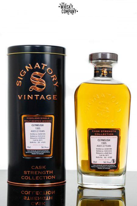 Clynelish 1995 Aged 22 Years Single Malt Scotch Whisky - Signatory Vintage (700ml)