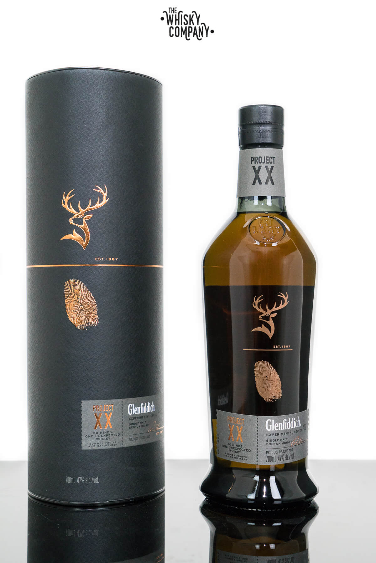 Glenfiddich Project XX Speyside Single Malt Scotch Whisky (700ml)