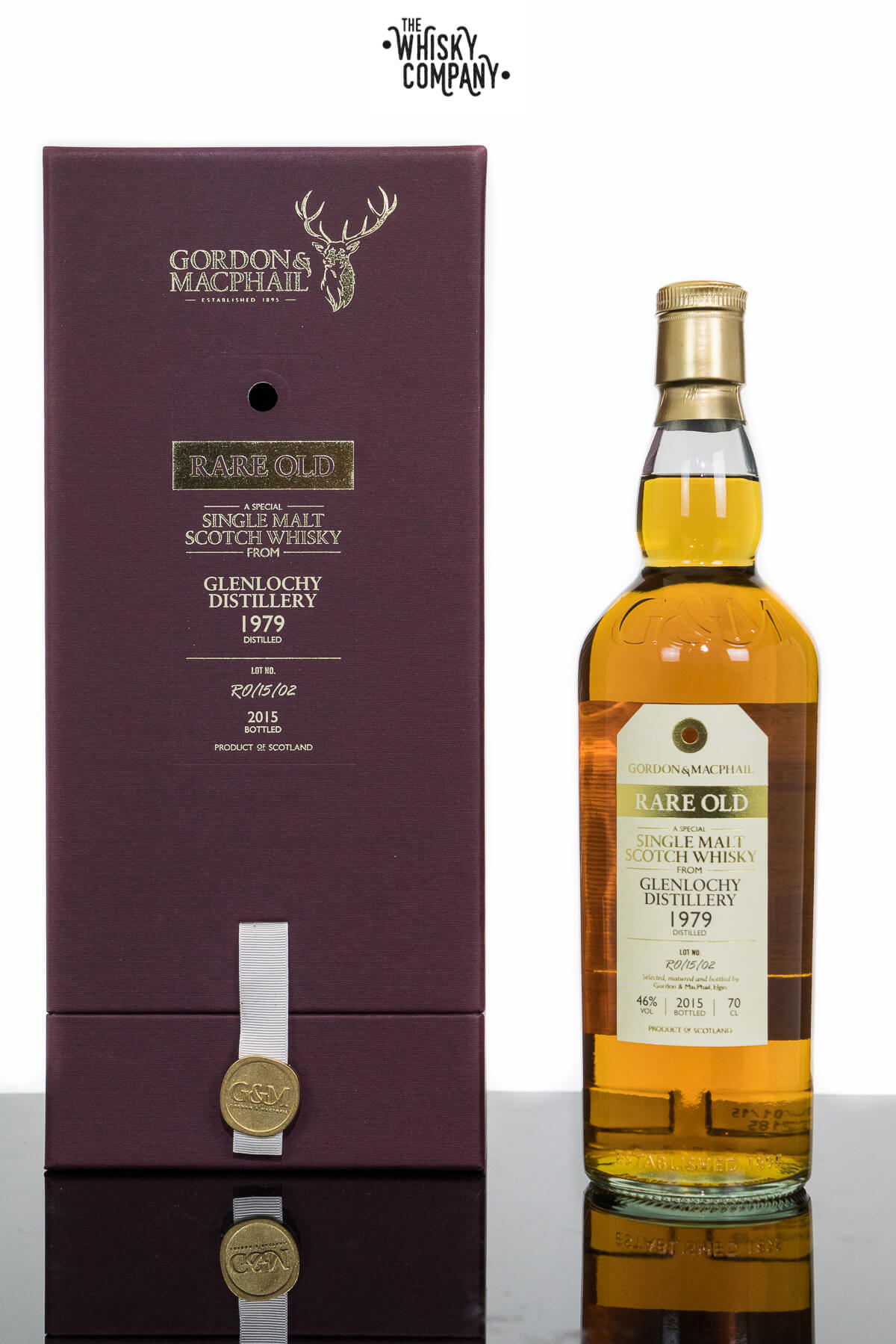 1979 Glenlochy 36 Years Old Single Malt Scotch Whisky (Gordon and Macphail) (700ml)