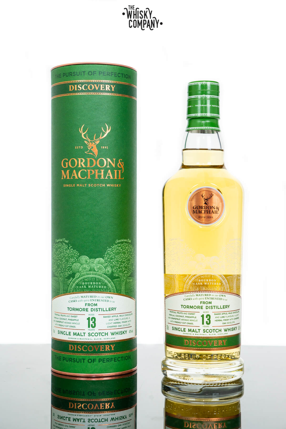 Tormore Aged 13 Years Discovery Single Malt Scotch Whisky - Gordon & MacPhail (700ml)
