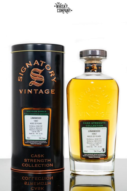 Linkwood 1997 Aged 20 Years (cask 7540) Single Malt Scotch Whisky - Signatory Vintage (700ml)