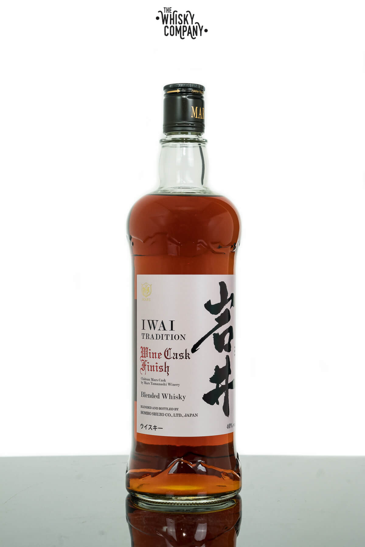 Mars IWAI Traditional Wine Cask Finish Japanese Whisky (750ml)