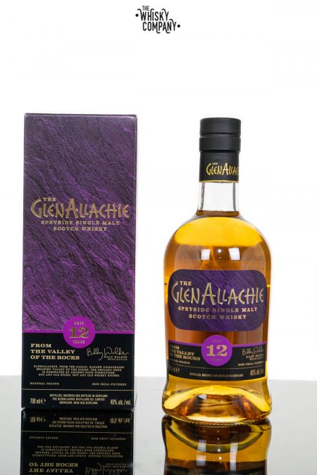 The Glenallachie Aged 12 Years Speyside Single Malt Scotch Whisky (700ml)