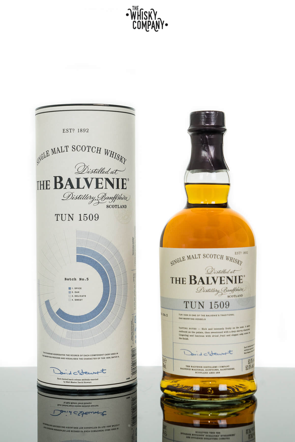 The Balvenie Tun 1509 Batch 5 Speyside Single Malt Scotch Whisky (700ml)