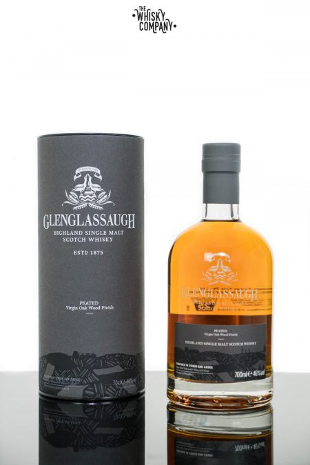Glenglassaugh Peated Virgin Oak Wood Finish Highland Single Malt Scotch Whisky (700ml)