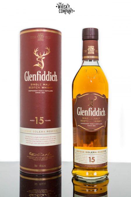 Glenfiddich Aged 15 Years Speyside Single Malt Scotch Whisky (700ml)
