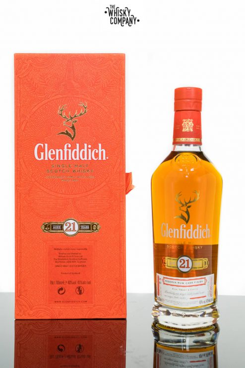 Glenfiddich 21 Years Old Single Malt Scotch Whisky (700ml)