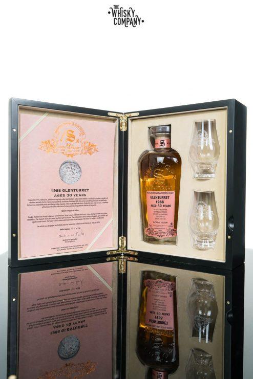 Glenturret 1988 Aged 30 Years (cask 532) Single Malt Scotch Whisky - Signatory Vintage 30th Anniversary (700ml)