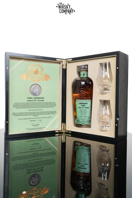 Linkwood 1990 Aged 27 Years (cask 9735) Single Malt Scotch Whisky - Signatory Vintage 30th Anniversary (700ml)