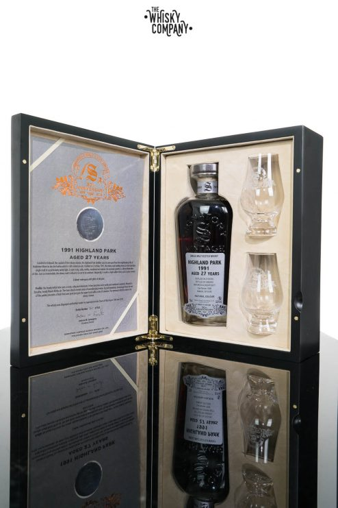 Highland Park 1991 Aged 27 Years Single Malt Scotch Whisky - Signatory Vintage 30th Anniversary (700ml)