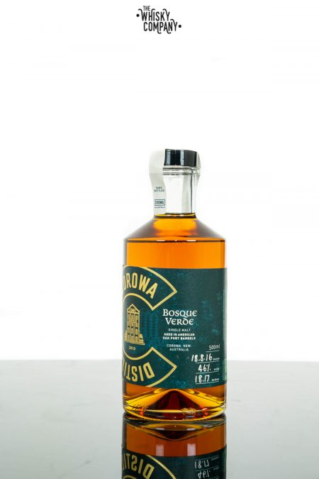 Corowa Distilling Co. Bosque Verde Australian Single Malt Whisky (46%) (500ml)