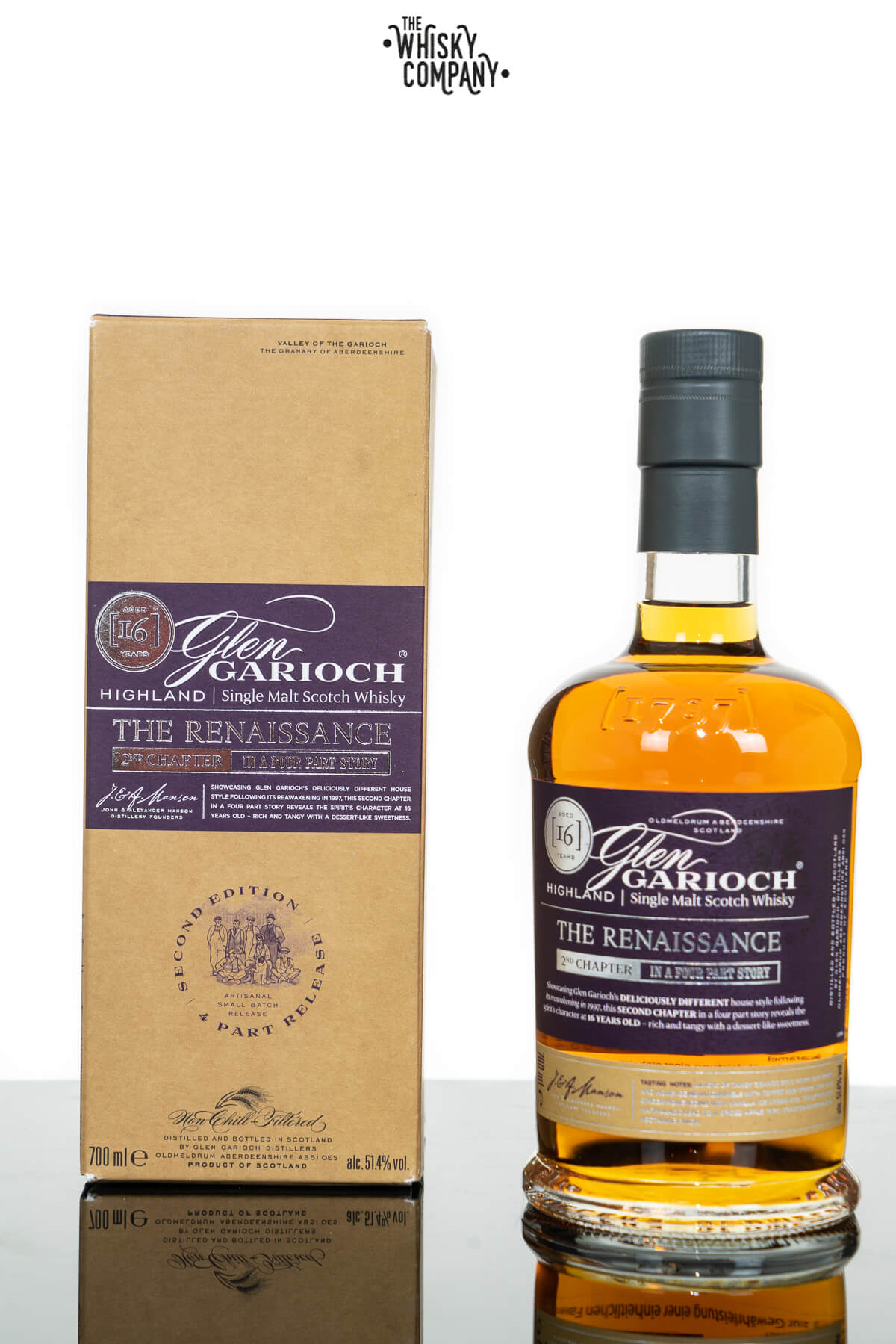 Glen Garioch 16 Years old The Renaissance Single Malt Scotch Whisky (700ml)