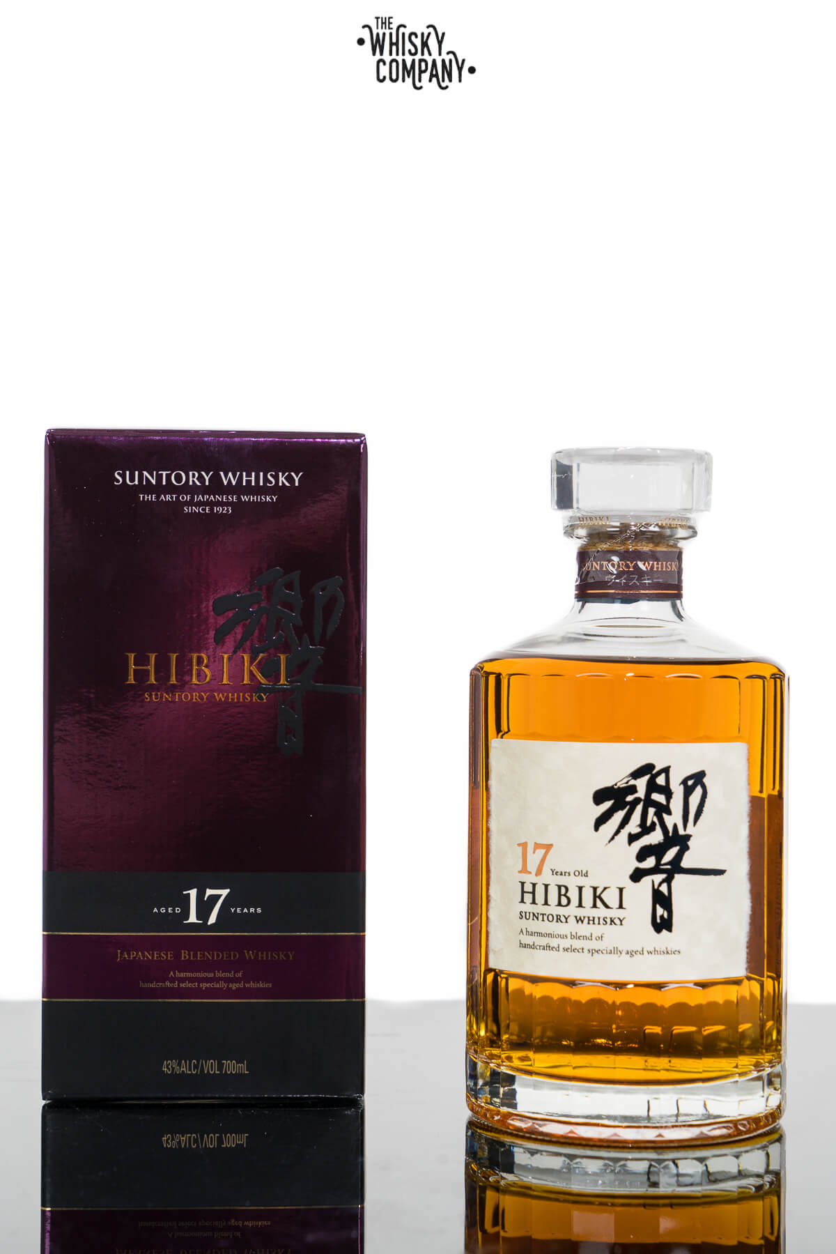 Hibiki 17 Years Old Japanese Blended Whisky (700ml)