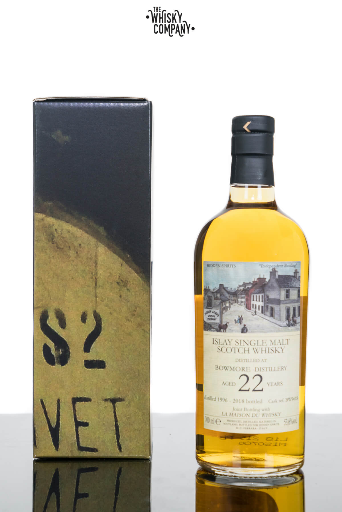 Bowmore Aged 22 Years Islay Single Malt Scotch Whisky - Hidden Spirits (700ml)