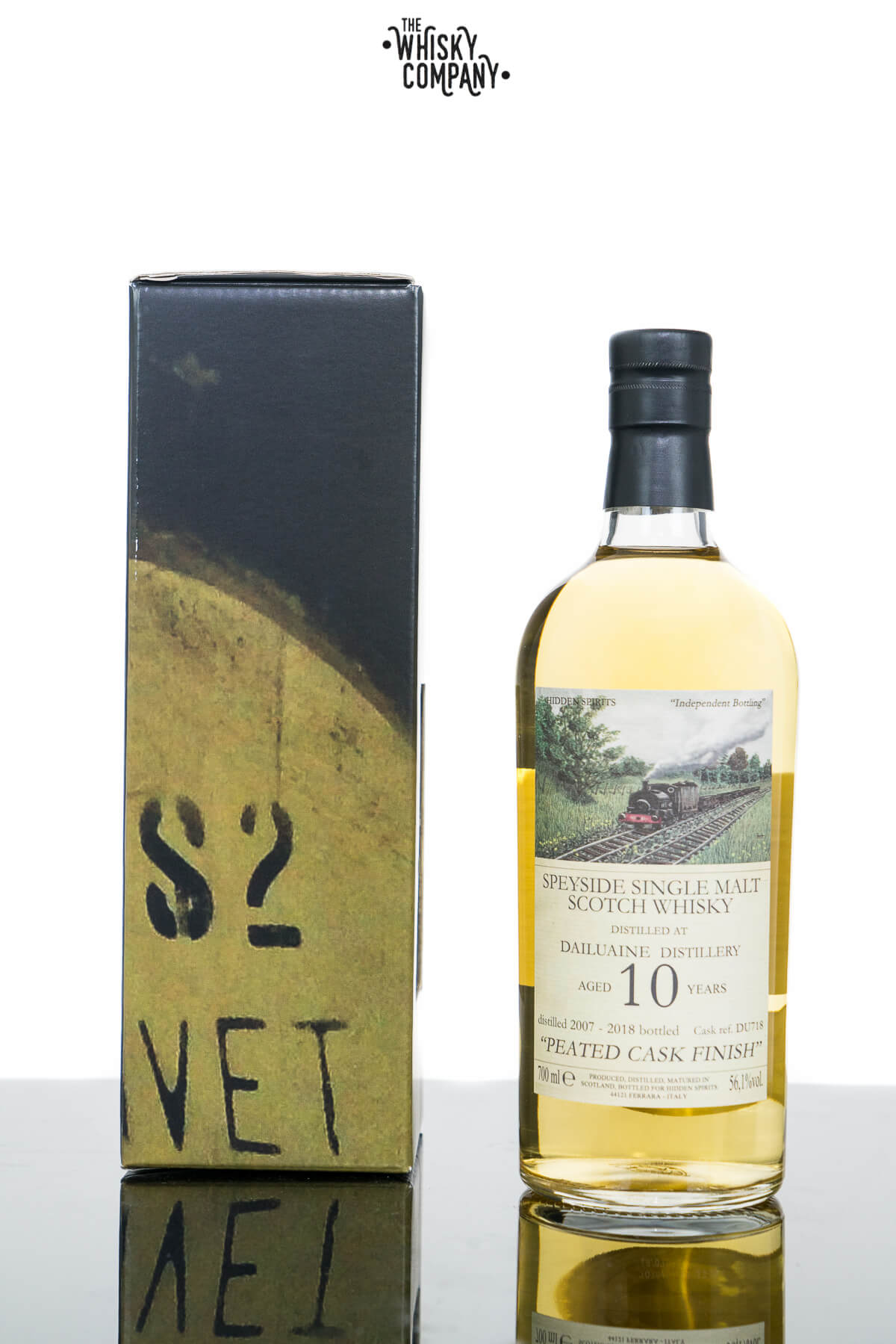 Dailuaine Aged 10 Years Speyside Single Malt Scotch Whisky - Hidden Spirits (700ml)