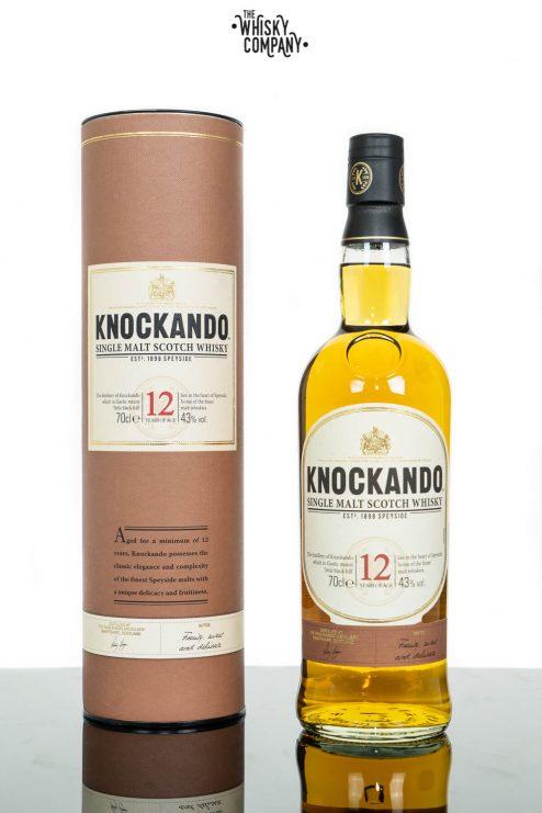 Knockando Aged 12 Years Speyside Single Malt Scotch Whisky (700ml)