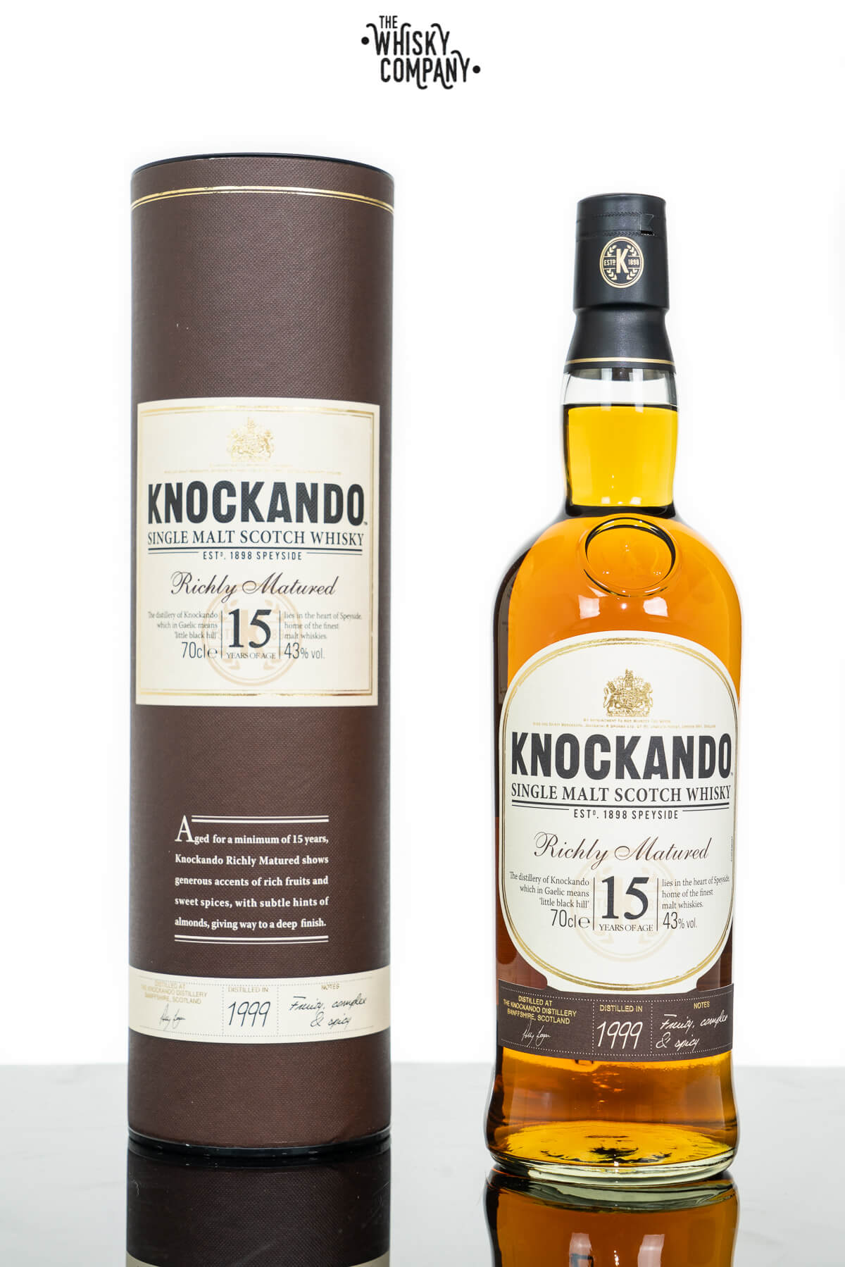 Knockando Aged 15 Years Speyside Single Malt Scotch Whisky (700ml)
