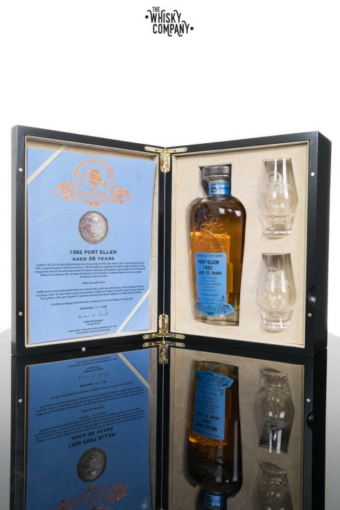 Port Ellen 1982 Aged 35 Years (cask 2040) Single Malt Scotch Whisky - Signatory Vintage 30th Anniversary (700ml)