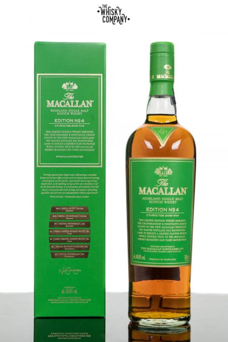 The Macallan Edition 4 Highland Single Malt Scotch Whisky (700ml)