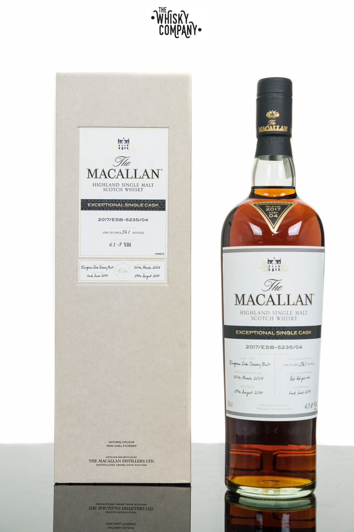 The Macallan Exceptional Single Cask 2017/ESB-5235/04 Single Malt Scotch Whisky (700ml)