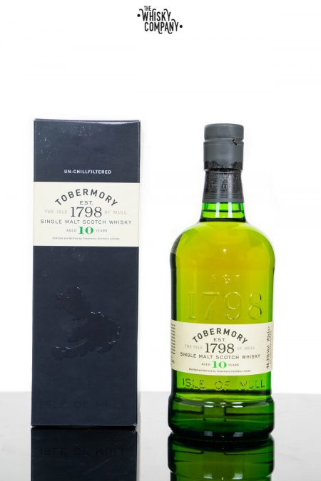 Tobermory 10 Years Old Island Single Malt Scotch Whisky (700ml)