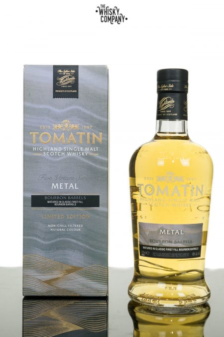 Tomatin Five Virtues Series Metal Highland Single Malt Scotch Whisky (700ml)