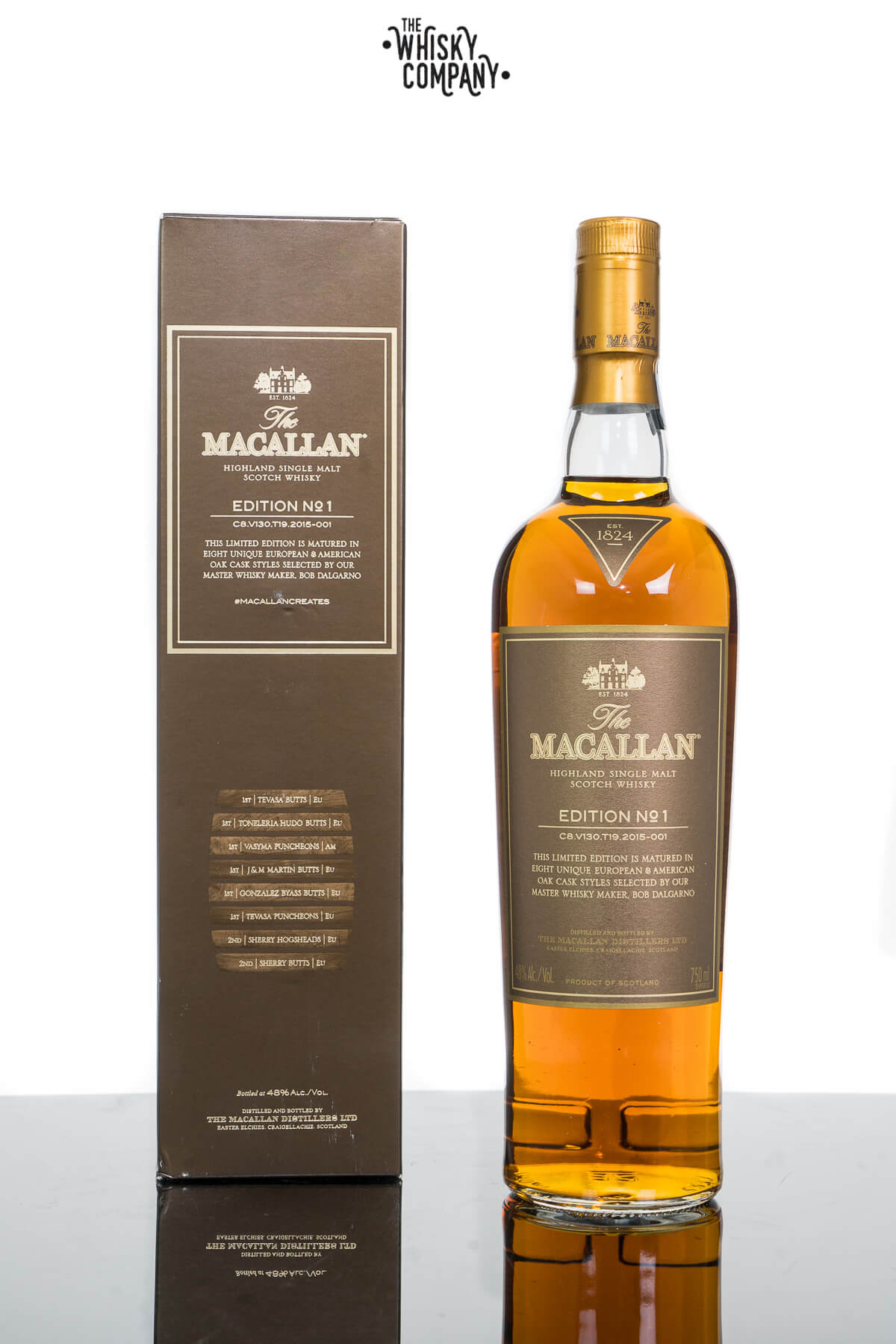 The Macallan Edition 1 Highland Single Malt Scotch Whisky (700ml)