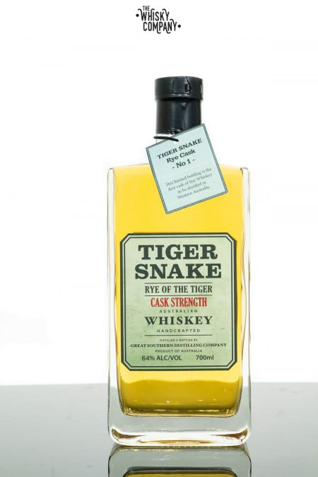 Tiger Snake Rye Of The Tiger Cask Strength Batch 1 Australian Whiskey (700ml)