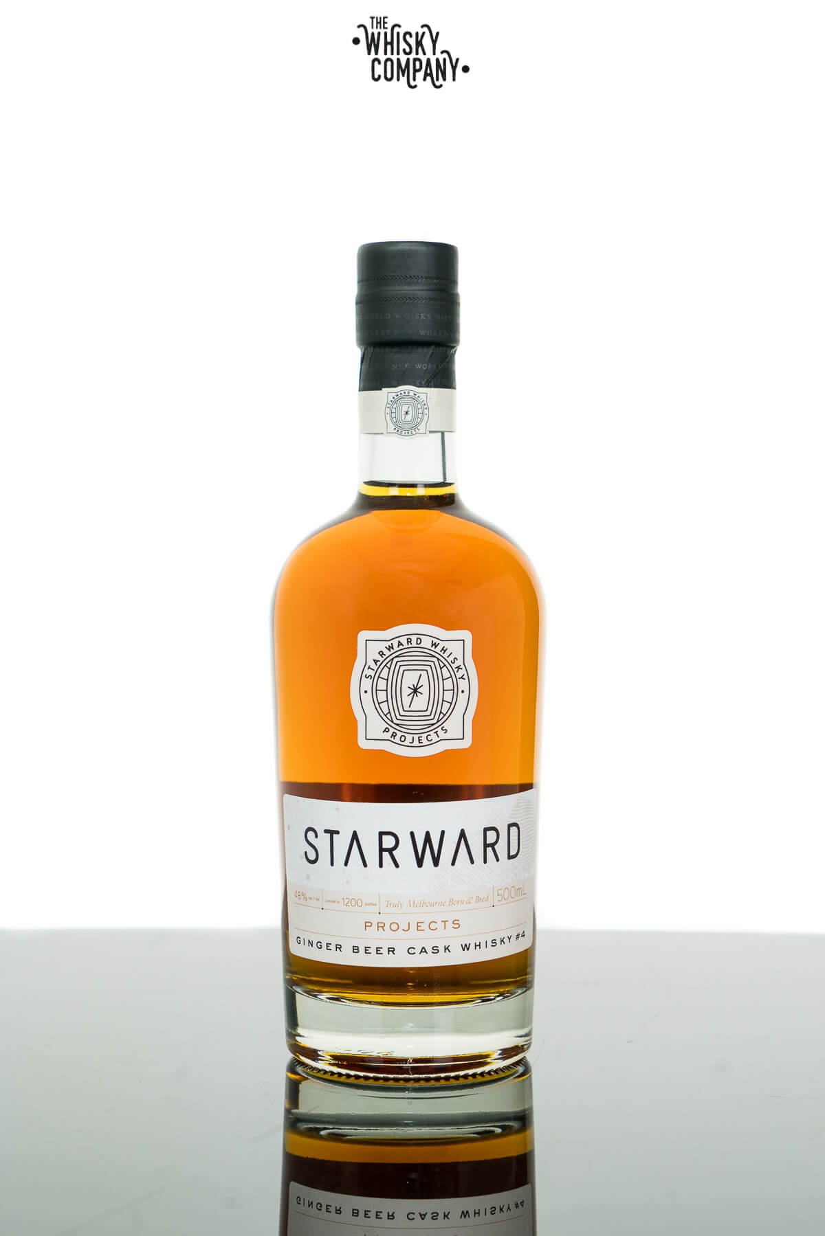 Starward Projects Ginger Beer Cask Batch 4 Australian Single Malt Whisky (500ml)