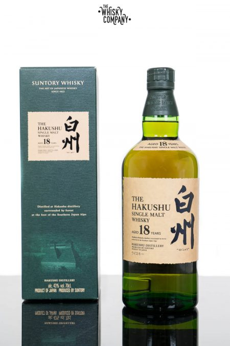 Hakushu Aged 18 Years Japanese Single Malt Whisky (700ml)