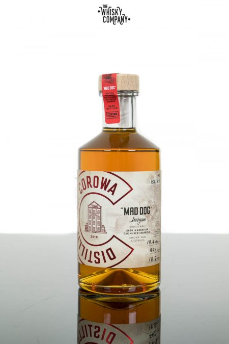 Corowa Distilling Mad Dog Morgan Australian Single Malt Whisky 46% (500ml)
