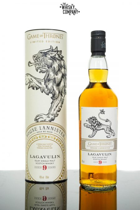 Game of Thrones House Lannister Lagavulin 9 Years Old Single Malt Collection (700ml)