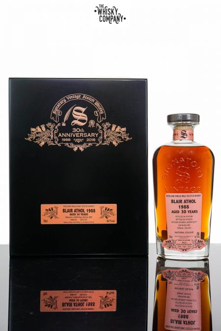 Blair Athol 1988 Aged 30 Years Single Malt Scotch Whisky - Signatory Vintage 30th Anniversary (700ml)