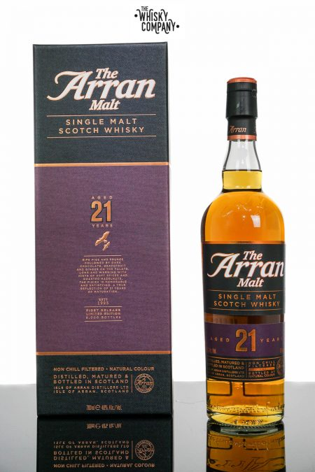 Arran Aged 21 Years Island Single Malt Scotch Whisky (700ml)
