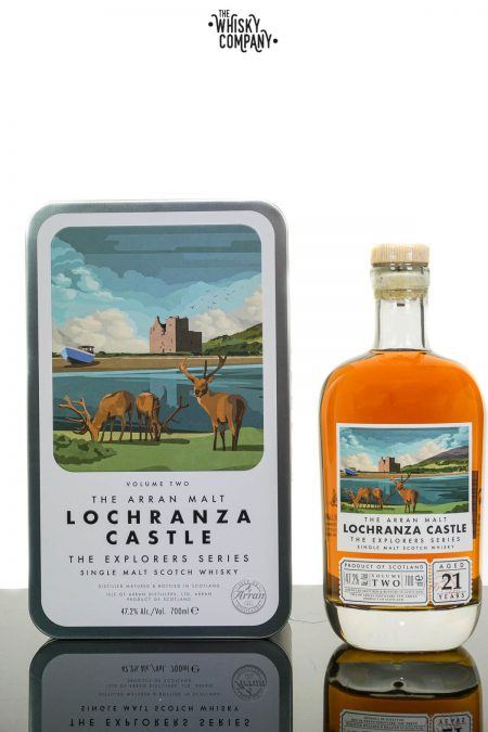 Arran Aged 21 Years Lochranza Castle 'The Explorer Series' Single Malt Scotch Whisky (700ml)