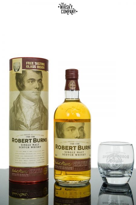 Arran Robert Burns Gift Pack Island Single Malt Scotch Whisky (700ml)