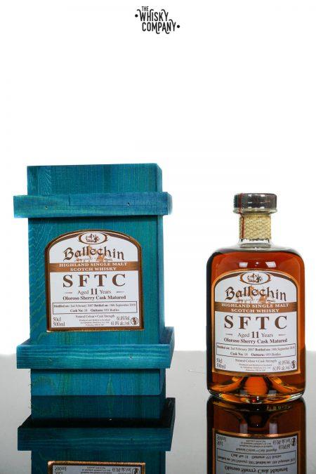 Ballechin 2007 SFTC Aged 11 Years Oloroso Sherry Cask Matured Single Malt Scotch Whisky (500ml)