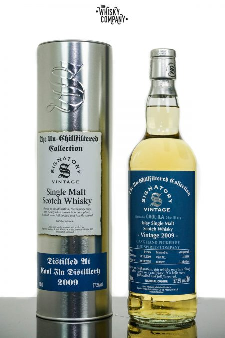 Caol Ila 2009 Aged 9 Years Single Malt Scotch Whisky Australian Exclusive - Signatory Vintage (700ml)