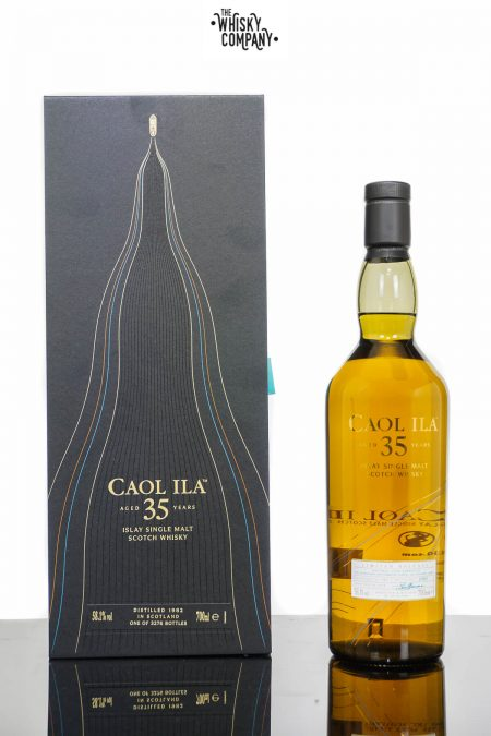 Caol Ila Aged 35 Years 2018 Release Single Malt Scotch Whisky (700ml)