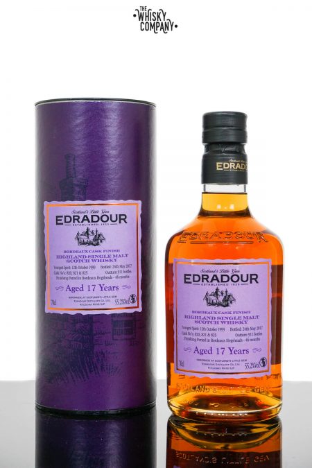 Edradour 1999 Aged 17 Years Bordeaux Finish Highland Single Malt Scotch Whisky (700ml)