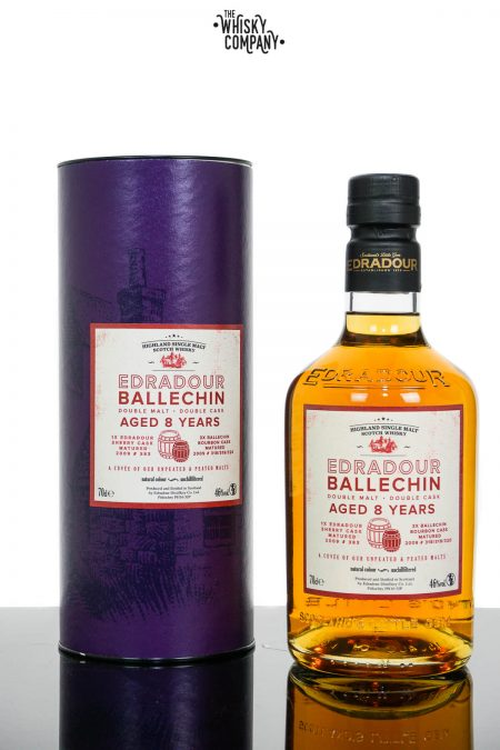 Edradour Ballechin Cuvee Aged 8 Years Highland Single Malt Scotch Whisky (700ml)