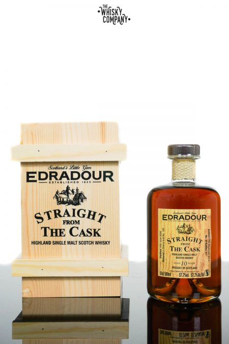 Edradour Aged 10 Years SFTC Highland Single Malt Scotch Whisky - Cask 160 (700ml)