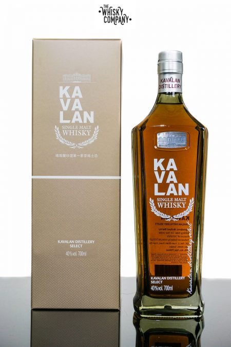 Kavalan Distillery Select No.1 Taiwanese Single Malt Whisky (700ml)