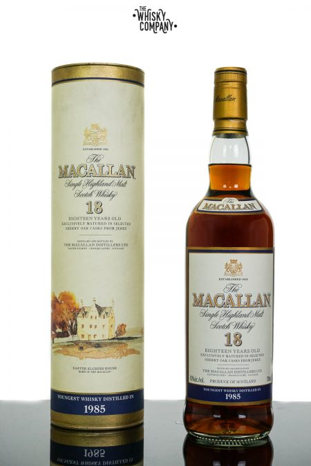 The Macallan 1985 Aged 18 Years Single Malt Scotch Whisky (700ml)