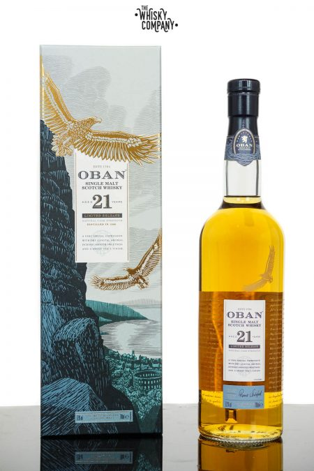 Oban Aged 21 Years 2018 Release Highland Single Malt Scotch Whisky (700ml)
